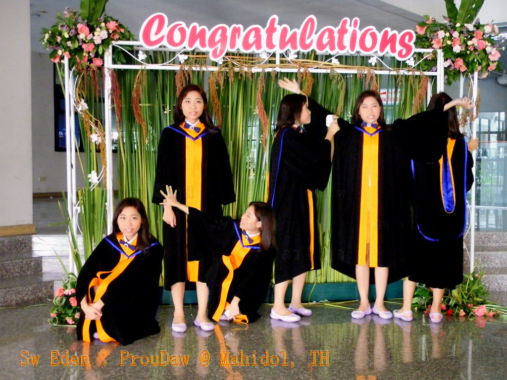 Thailand Education Teachers Students School University Classroom Studying Learning Activities graduation girl bachelor degree
