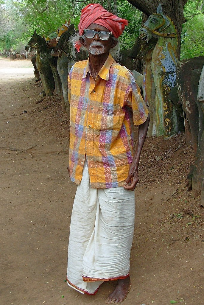 Pudukkottai - Tamil Nadu | This lovely old man whose lenses