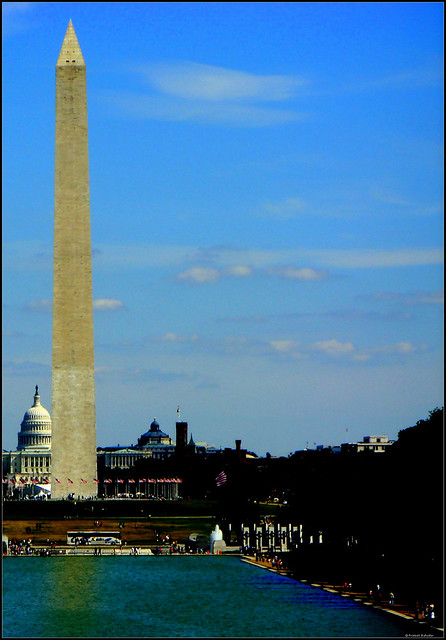 Washington Monument and The Capitol Hill