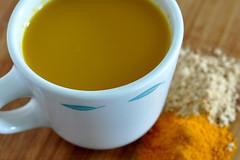 Turmeric-ginger tea | by chiffonade