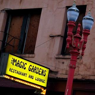 Magic Gardens Old Town Portland Oregon C 2011 Todd Meckl