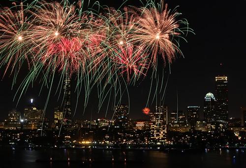 Fireworks - Boston by jiangning