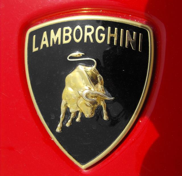 Logo De Lamborghini Macro Del Morro De Un Gallardo Flickr
