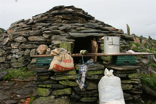 Bothy on Sula Sgeir | by Donald Morrison
