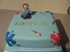 horrid henry birthday cake | by my little cup cake