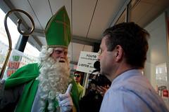 De Groene Sint bezoekt Hema