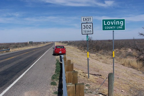 Entering Loving County