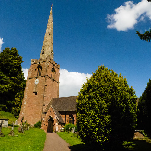 Worfield church