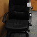 Leatherette meeting chair E50