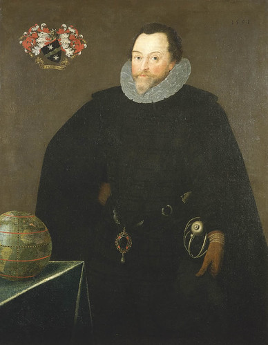 Sir Francis Drake, 1591   by lisby1