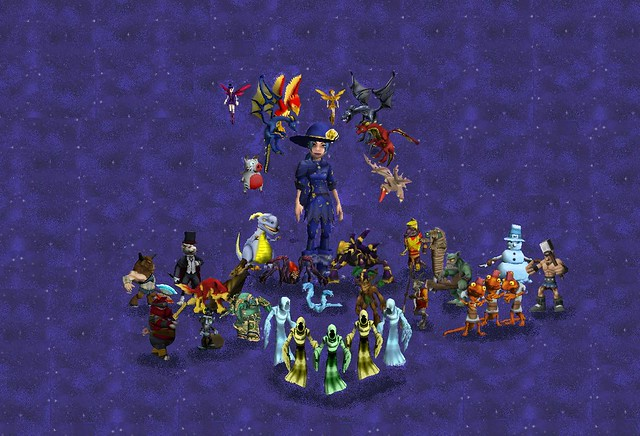 wizard101 pet portrait 7/09 | 35 pets    and still the pictu… | Flickr