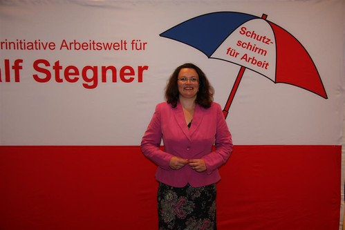 Andrea Nahles   by SPD-Schleswig-Holstein