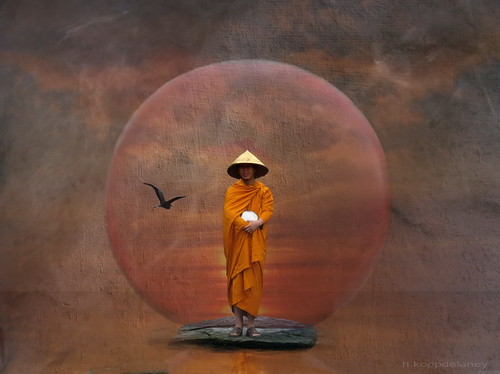 Waiting Monk | by h.koppdelaney