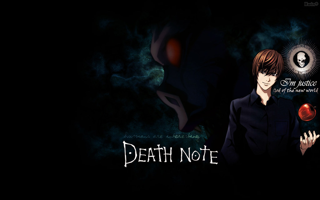 Death Note Wallpaper 01 Anime Death Note Yagami Light