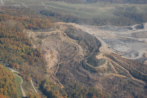"Enterprise Coal Co. ""Big Branch"" mountaintop removal mine Knott County KY"