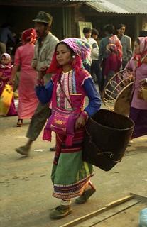 Market at Menghum, Xishuangbanna, Yunnan, China | by Lon&Queta