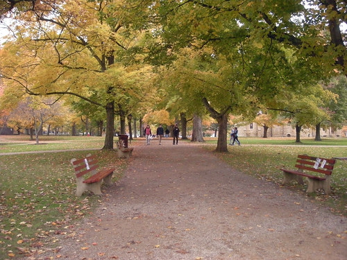 Kenyon College, Middle Path, Fall 2009, 02 | by Larry Miller