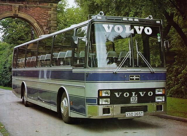 XSD 265T Volvo B58 Van Hool demonstrator