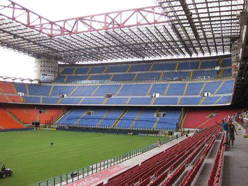 San Siro Stadium, AC Milan end