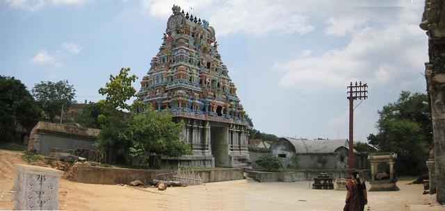Rajagopuram - inner view