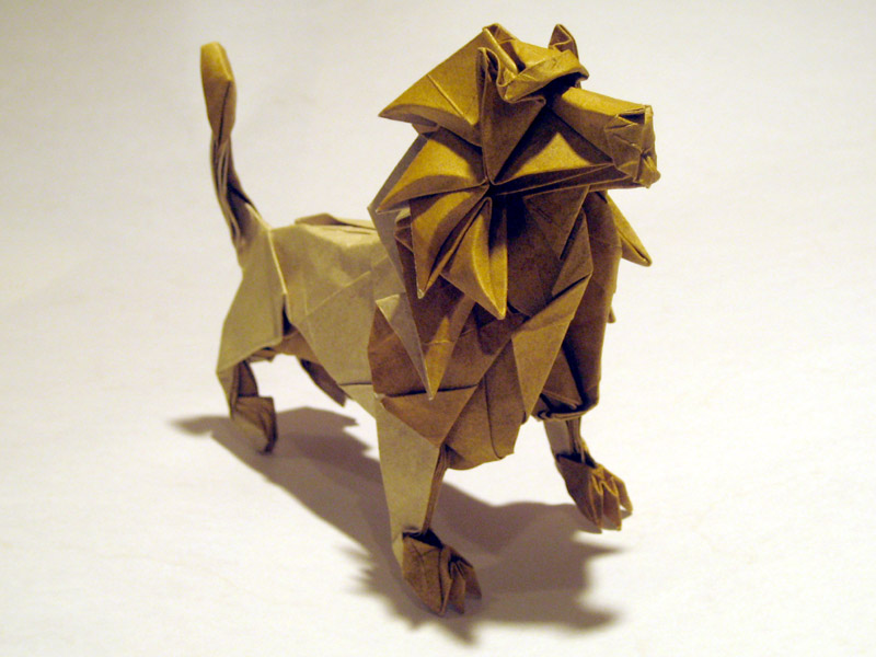 Joseph Wu's Origami - Lion (take 2)