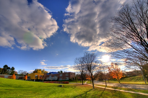 autumn sunset elementaryschool statecollege hdr d300s nikkor1024mmf3545gedafsdx easterlyparkwayelementaryschool easterlyparkway