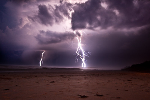 Ocean lightning | by andrewmalone