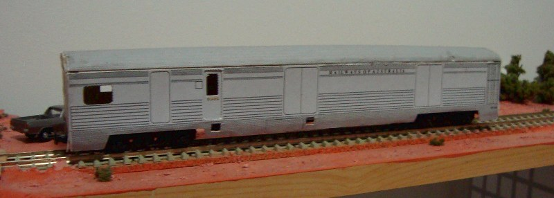Acrux HM Van Demo by Burke Model Railway