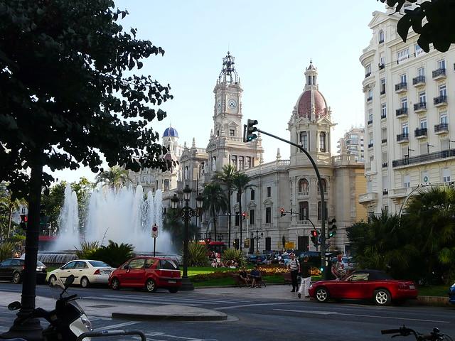 El ayuntamiento de Valencia