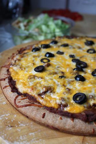 Mexican pizza   by Kodamakitty