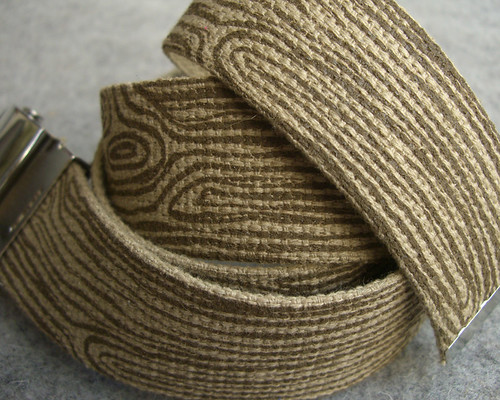 Brown Woodgrain Belt | by shelleth
