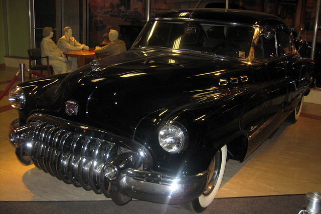 Washington DC - National Museum of American History: America on the Move - Buick Super sedan