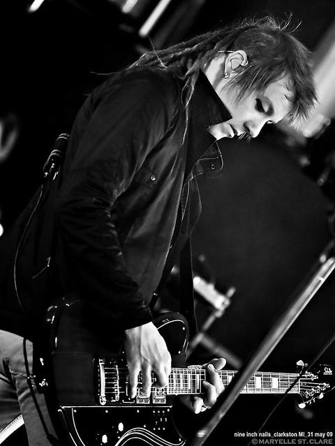Robin Finck   Nine Inch Nails @ Clarkston 5/31/09