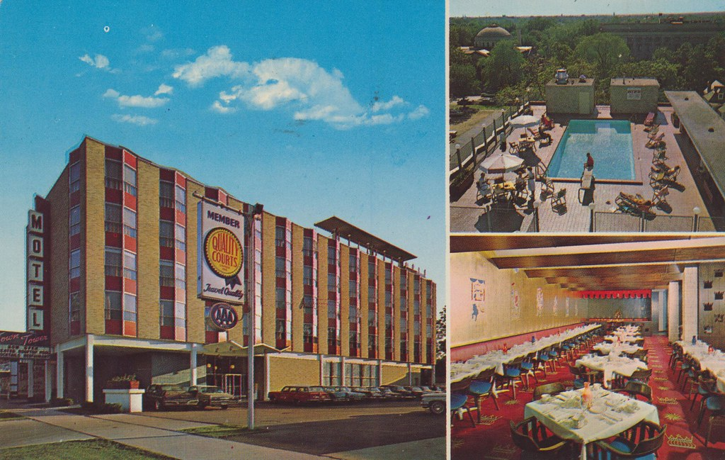 Town Tower Motel South Bend Indiana 423 North