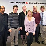 Melvin Irons, Dustin Turner, Associate Professor Karen Girton-Snyder, Lindsey Leonard, Kenneth Banks, Evan Groff