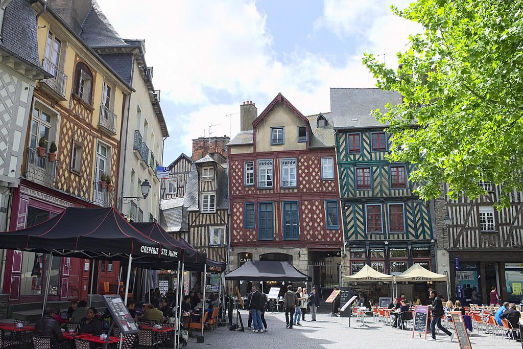 Rennes | On ne viendra plus à Rennes en passant. Cette époqu… | Flickr