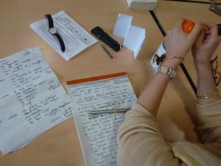 Atelier d'écriture avec Cécile Coustalot   by bibquimperle3