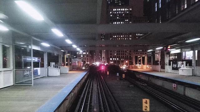 Chicago CTA Brownline Hyperlapes