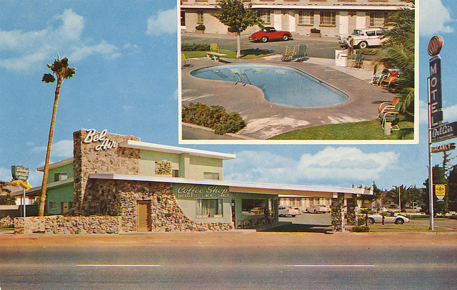 Bel Air Motel Fresno, CA