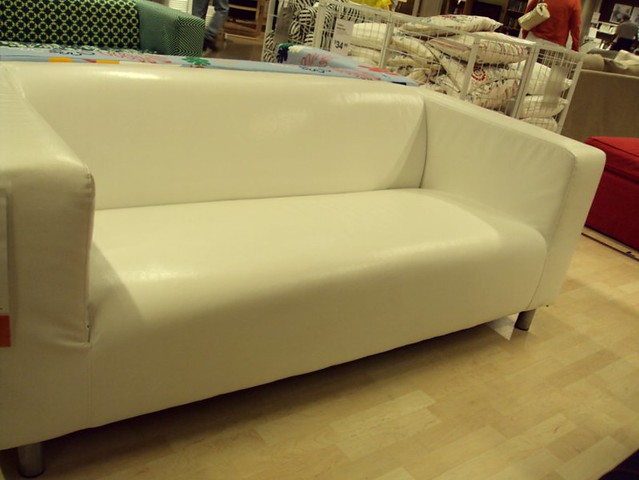 Peachy Ikea Klippan Loveseat In White 399 This Is Not Leather B Spiritservingveterans Wood Chair Design Ideas Spiritservingveteransorg