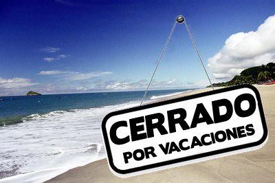 CLOSED FOR VACATIONS | Closed for vacations | Ricardo Vega Déniz ...