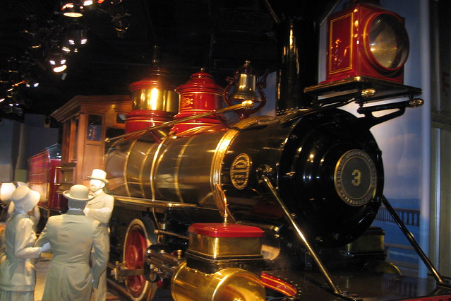 Washington DC - National Museum of American History: America on the Move - Steam Locomotive Jupiter