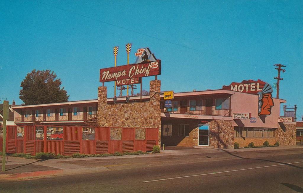 Nampa Chief Motel Nampa Idaho 2 Blocks From Downtown Na