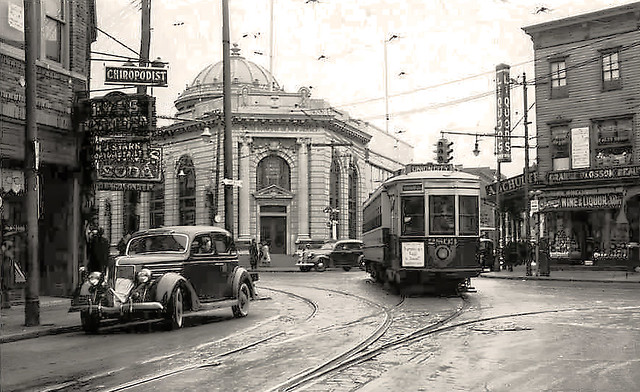 Bergenline Ave and 32nd St. - March 4, 1939