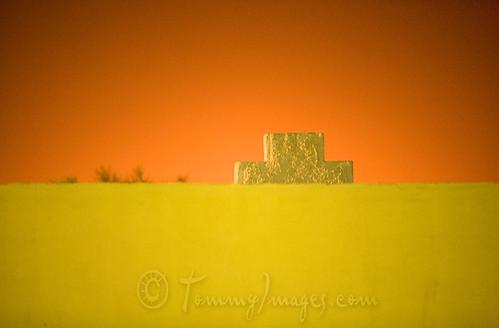 orange yellow sunrise dawn algeria northafrica arab algerie alger hassimessaoud ouarglaprovince
