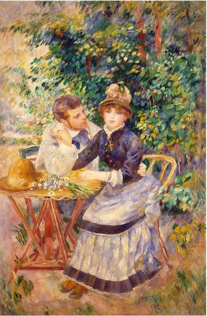 Renoir - In the garden 1885