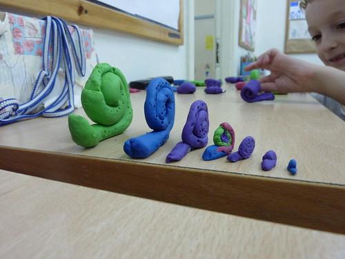 noah's plasticine snails   by ella novak