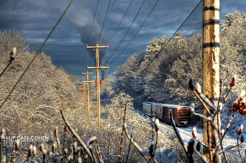 Railroad Tracks | Atlantic Heights by Philip Case Cohen