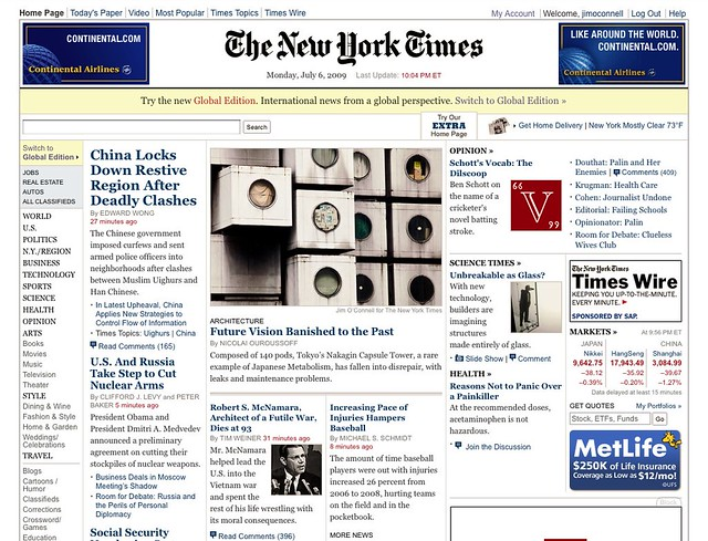 Breaking News The New York Times
