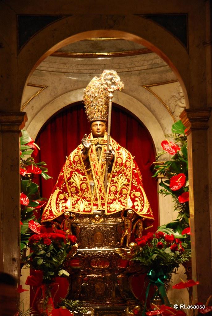 San Fermín Imagen de San Fermín santo co patrón de